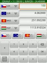 Přepočet měn