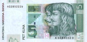 chorvatska kuna bankovky